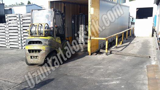 Forkliftle Yükleme İşlemi